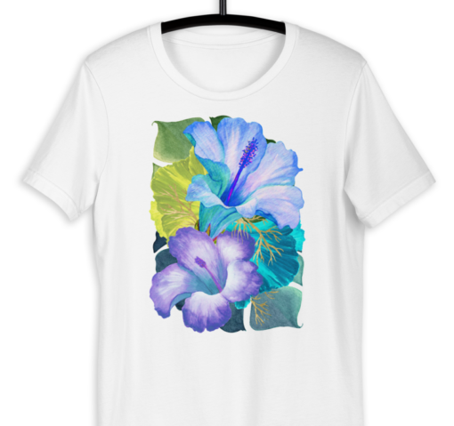 Blue Tropical – T-Shirt