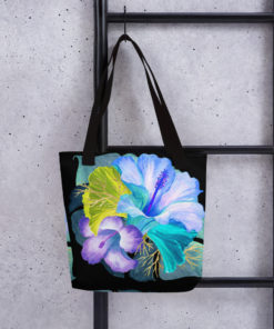 Blue Tropical #2 – Tote Bag