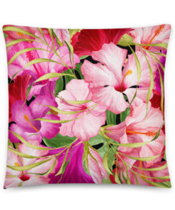 Pink Tropical #1 – Pillow