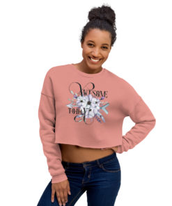 AWESOME BOHO Crop Sweatshirt