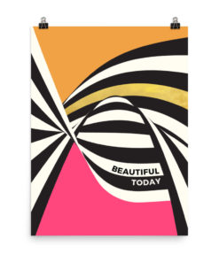 Beautiful today – Poster