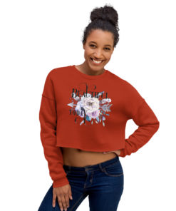 BEAUTIFUL BOHO Crop Sweatshirt