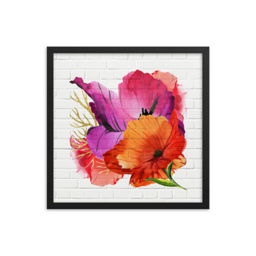 POWER POPPIES Framed Poster