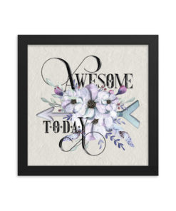 AWESOME Boho Square Framed
