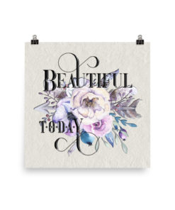 BEAUTIFUL Boho Square Poster