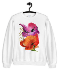 POWER POPPIES Sweatshirt