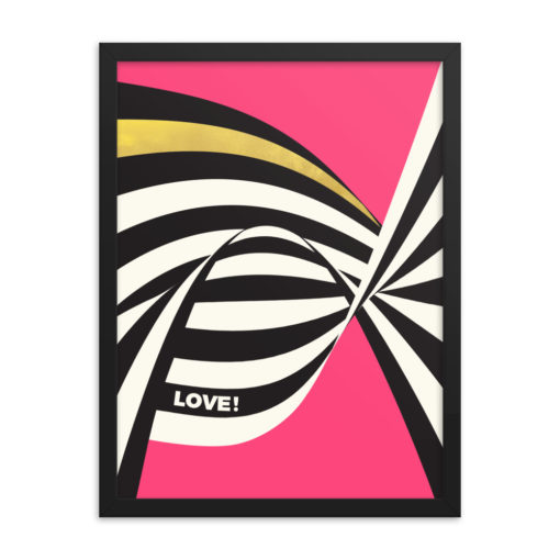 LOVE Framed Poster