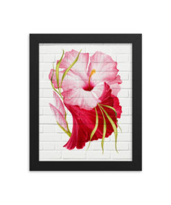 PINK TROPICALS Framed Poster