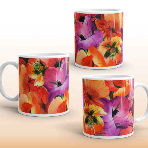 HAPPY POPPIES #1 Mug