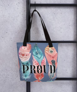 PROUD Tote Bag