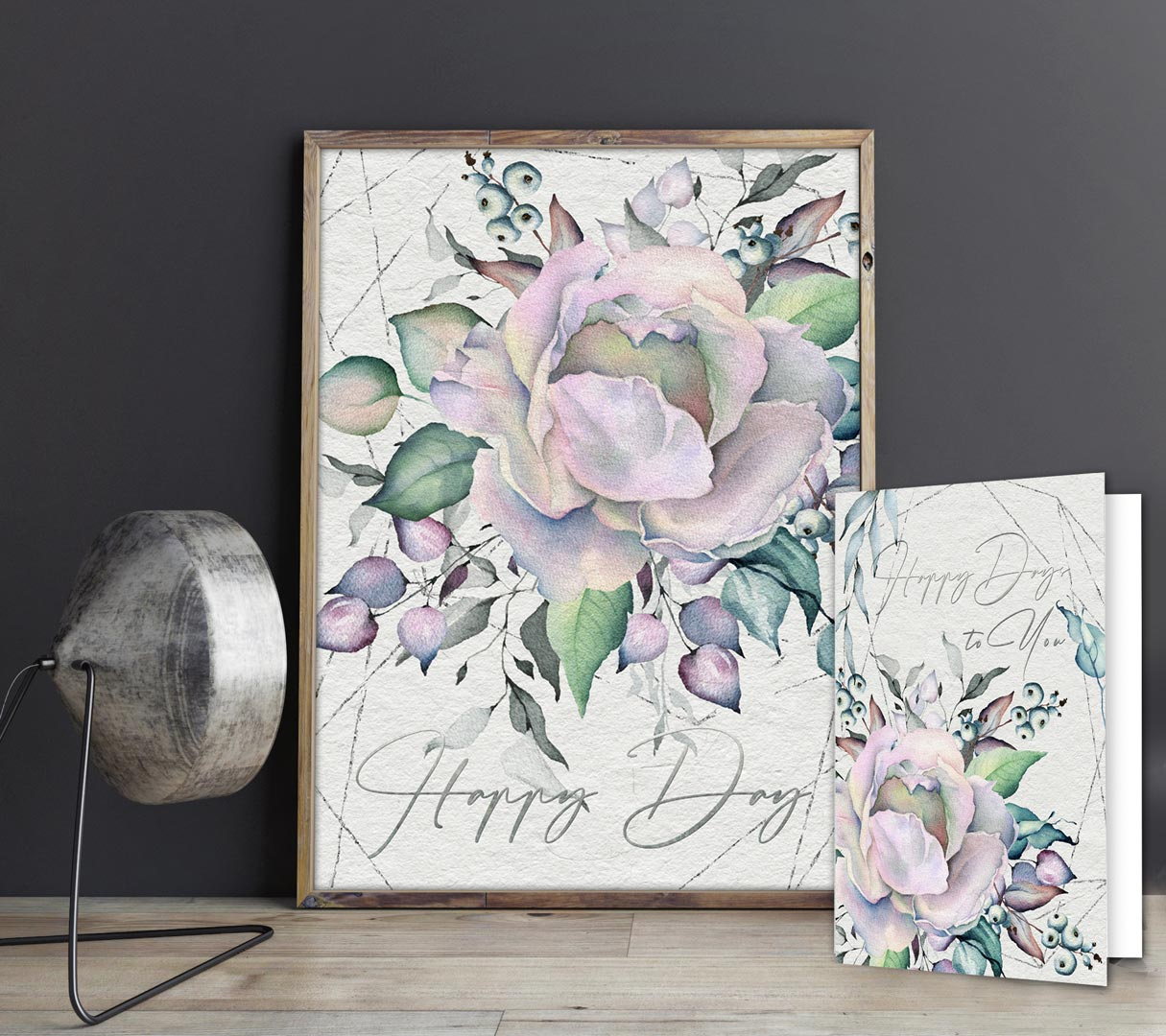 Happy Day - Pastel Rose