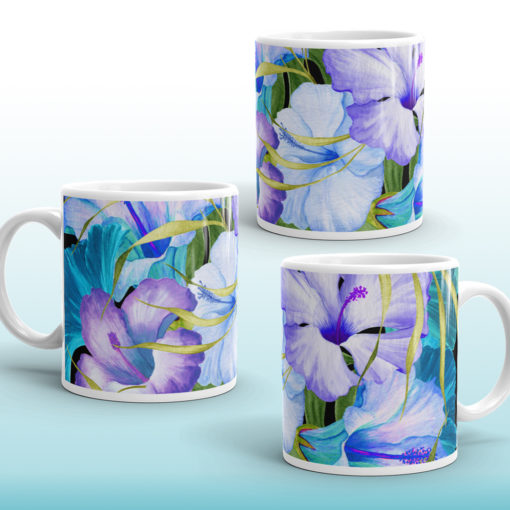 Blue Tropical #1 – Mug