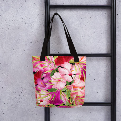 Pink Tropical #1 – Tote Bag