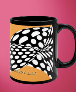Happy Day – Black Mug