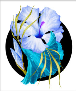 Flower Power – Tropical Blue