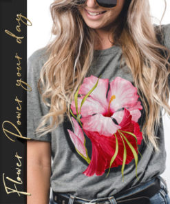 Flower Power – T-Shirt Mockup