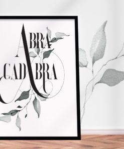 Abracadabra – your personal magic :-)