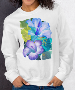 Blue Tropical – Sweatshirt