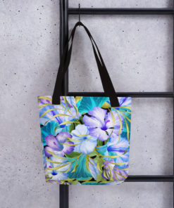 Blue Tropical #1 – Tote Bag