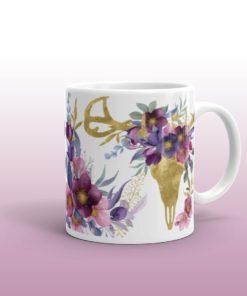 Bohemian Deer - Mug