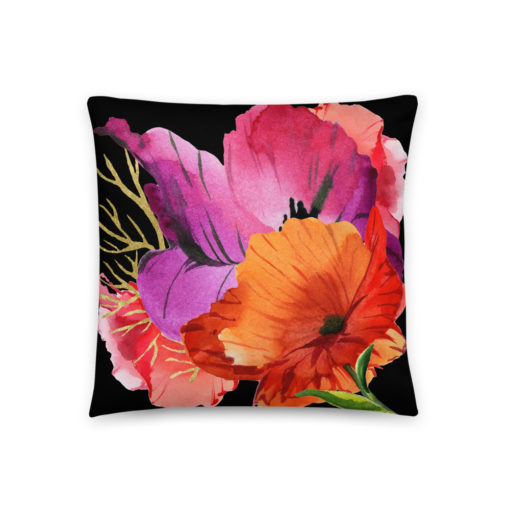 POWER POPPIES #2 Pillow