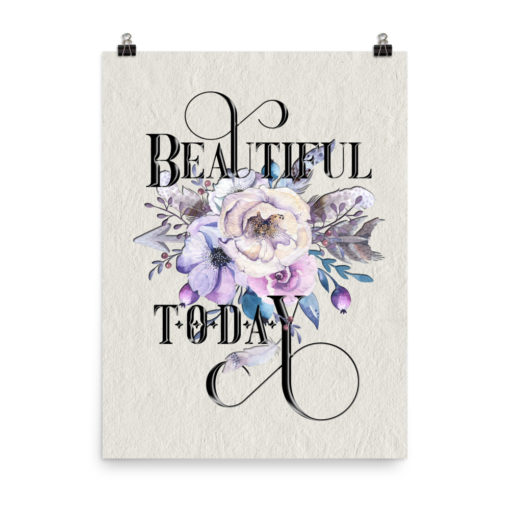 BEAUTIFUL Boho Portrait Poster
