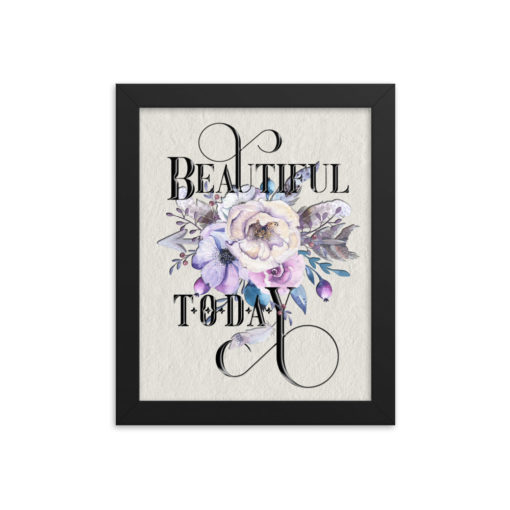BEAUTIFUL Boho Portrait Framed