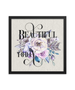 BEAUTIFUL Boho Square Framed