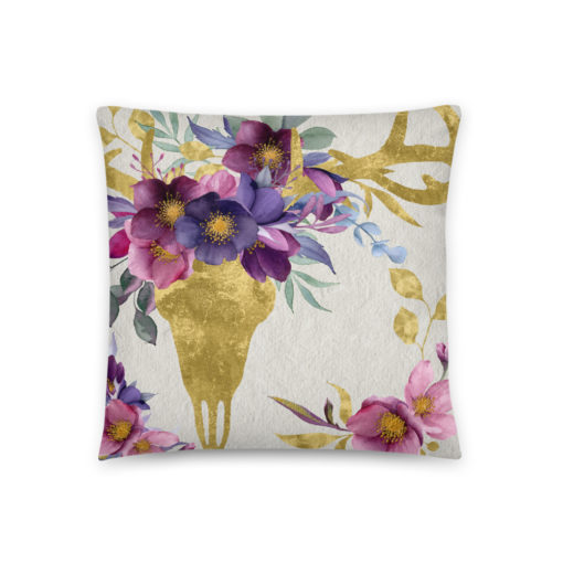 Bohemian Deer - Pillow