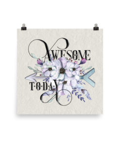 AWESOME Boho Square Poster