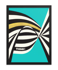 THINK Framed Poster