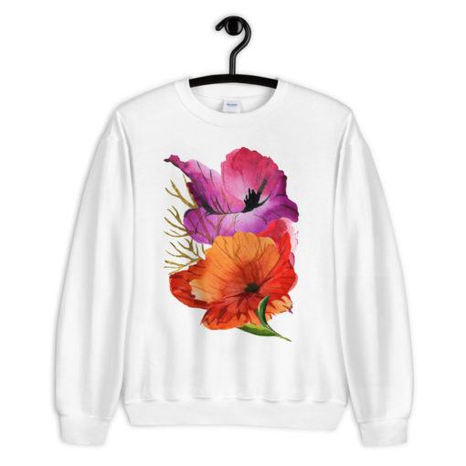 POWER POPPIES Sweatshirt
