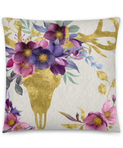 Bohemian Deer - Pillow