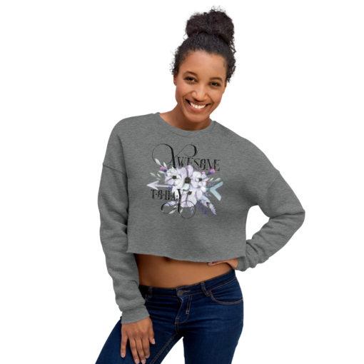 AWESOME BOHO Crop Sweatshirt