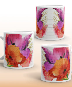 HAPPY POPPIES #2 Mug