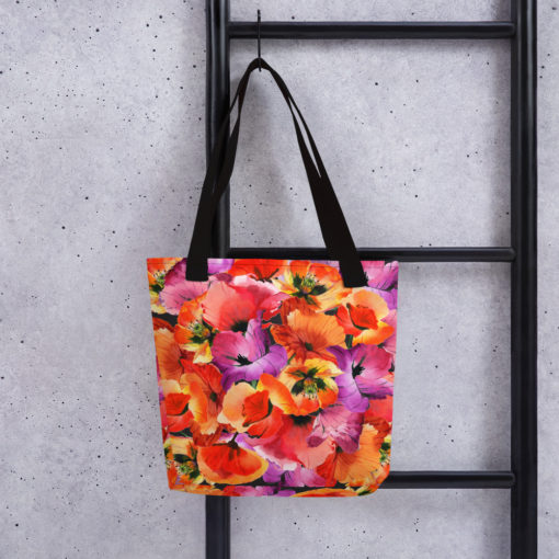 HAPPY POPPIES #1 Tote Bag