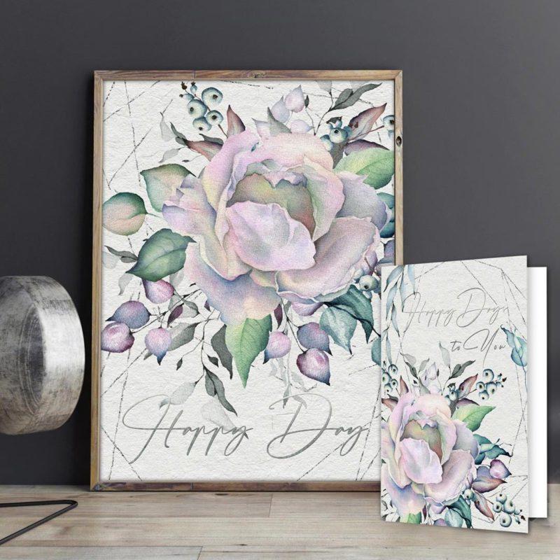 Happy Day - Pastel Rose