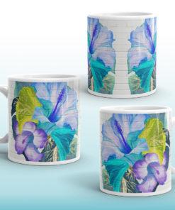 Blue Tropical #2 – Mug