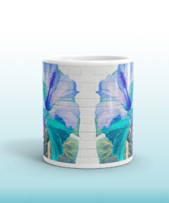 Blue Tropical #2 – Mug