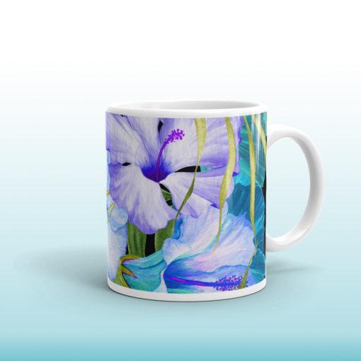 Blue Tropical #1 – Mug