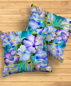 TropicL Blue #1 – Pillow