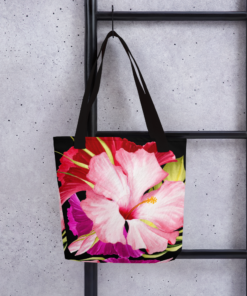 Pink Tropical #2 – Tote Bag