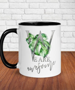 We are awesome – classy mug