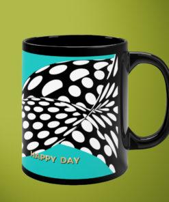 Happy Day – Black Mug