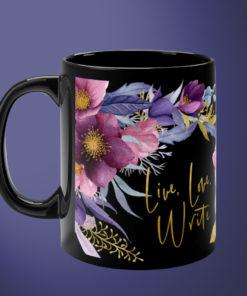 Live, Love, Write – Writer's Mug
