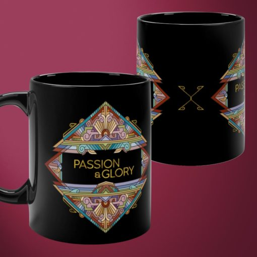 Passion & Glory – Black Mug
