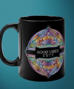 Good Vibes – Black Mug