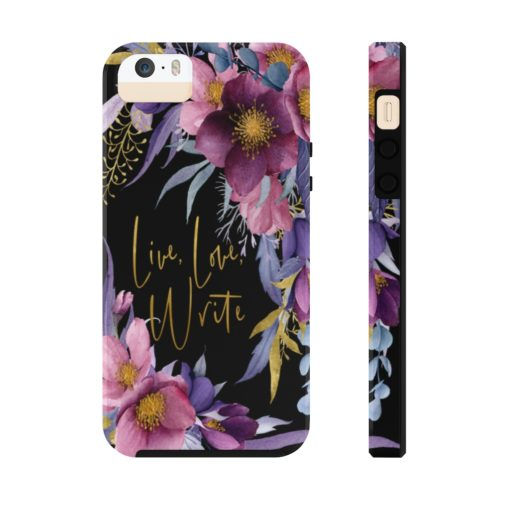 Live, Love, Write – Phone Case