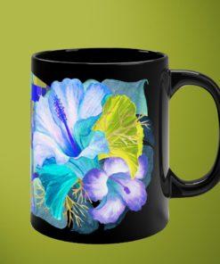 Tropicals DeLuxe – Black Mug