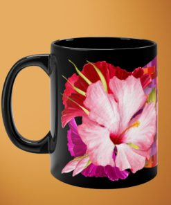 Tropicals DeLuxe – Black Mug